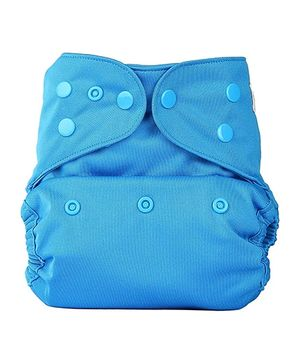 Bumberry Cloth Diaper Cover With One Bamboo Insert - Oceanic Blue