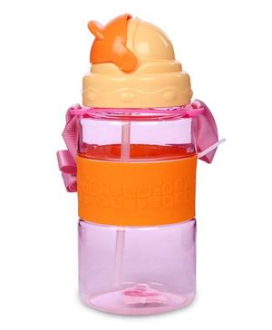 Sipper Water Bottle 300 ml - Pink