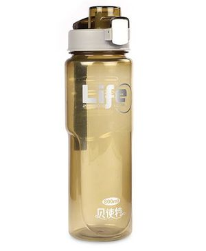 Sipper Water Bottle With Push Button Life Print - 700 ml