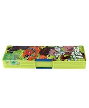 Ben 10 Pencil Box - Green