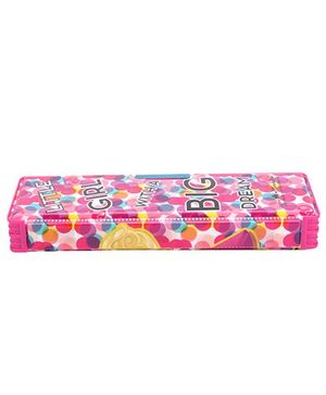 Barbie Magnetic Pencil Box - Pink