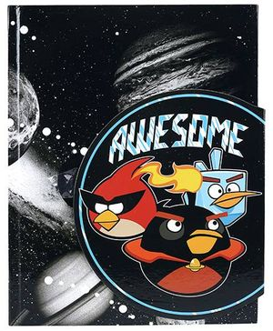 Angry Birds Magnetic Notebook - Black