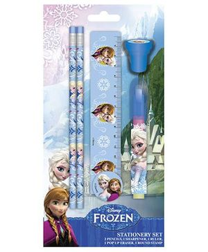 Disney Frozen Stationay Set - Five Items