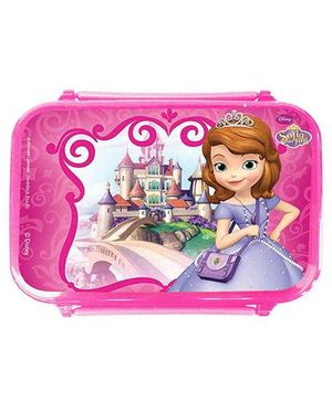 Disney Sofia The First Lunch Box Spill Proof - Pink