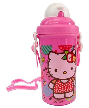 Hello Kitty Sipper Bottle Pink - 500 ml