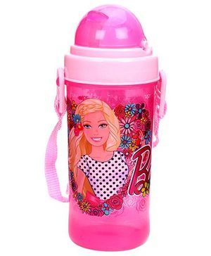 Barbie Sipper Water Bottle Pink Small - 400 ml