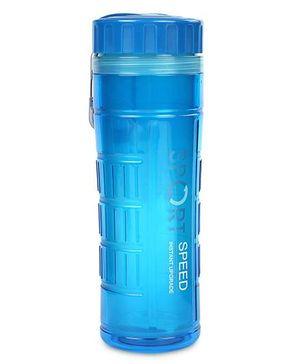 Water Bottle With Filter Net Sport Design 600 ml - Blue