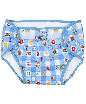 Babyhug Waterproof Nappy With Velcro Closure XXLarge Single Piece - Assorted Colors