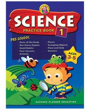 Fairfield Book Publisher Pre-School Science Practice Book 1
