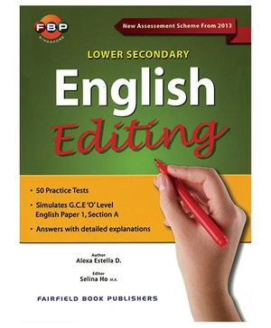 Lower Secondary English Editing-English