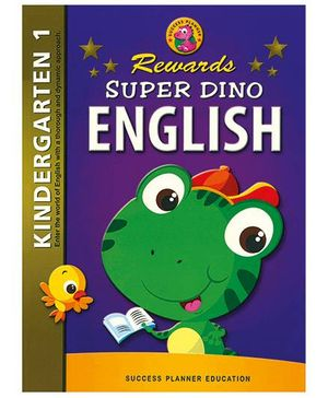 Fairfield Book Publisher Super Dino English Kindergarten 1