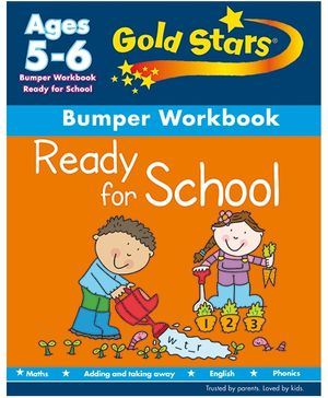 Gold Stars Ready for School Bumper Workbook - English