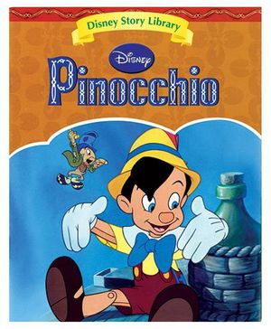 Disney Pinocchio Story Book - English