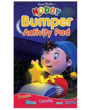 Noddy Bumper Activity Pad - English