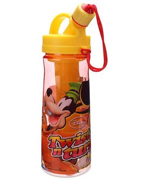 Disney Mickey Mouse And Friends Sipper Bottle Yellow - 600 ml