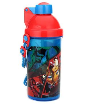 Avengers Sipper Bottle Red And Blue - 450 ml