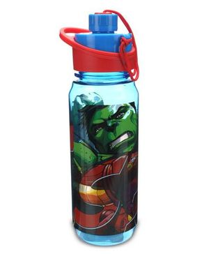 Marvel Avengers Sipper Bottle Blue And Red - 650 ml