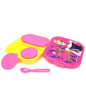 Disney Lunch Box - Pink And Yellow
