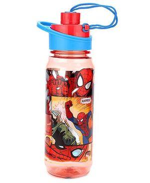 Marvel Spider Man Water Bottle Red - 650 ml