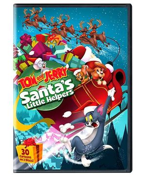 Sony Tom and Jerry Santas Little Helpers DVD - English