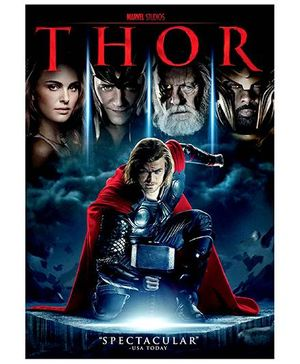 Sony Thor Movie DVD - English