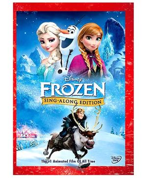 Frozen Sing Along Edition DVD - English