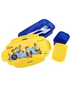 Chhota Bheem Lunch Box - Yellow And Blue
