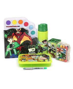 Ben 10 School Kit Green - Pack of 6
