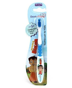 Dentoshine Chhota Bheem Toothbrush For Kids - Blue
