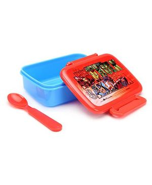 Avengers Lunch Box - Red And Blue