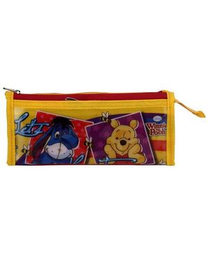 Winnie The Pooh Pencil Pouch - Yellow