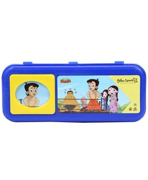 Chhota Bheem Pencil Box - Blue And Yellow