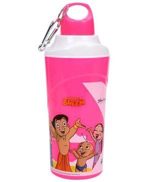 Chhota Bheem Water Bottle Pink - 600 ml