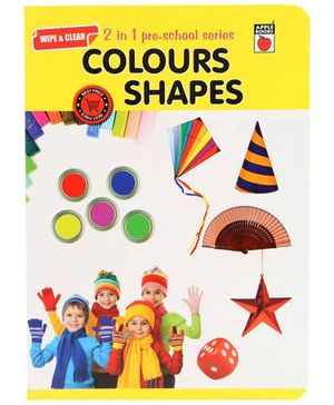 Apple Books 2 In 1 Pre School Series Colors And Shapes English