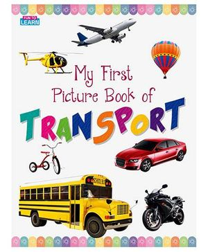 Young Angels My First Picture Book Of Transport - English