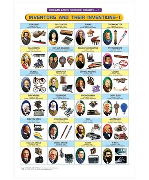 Inventors And Their Inventions Science Chart 1 - English