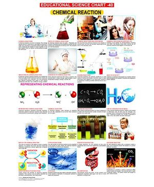Educational Science Chemical Reactions Chart 40 - English