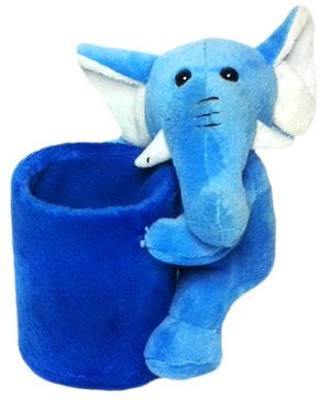 Soft Buddies Elephant Utility Holder Blue - Height 6.4 Inches