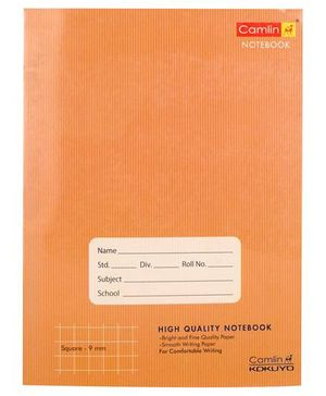 Camlin Square Notebook Brown - 172 Pages