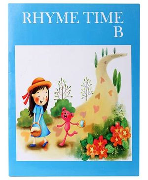 Blue Orange Publications Rhyme Time B Book With CD - English