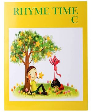 Blue Orange Publications Rhyme Time C Book With CD - English