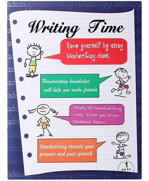 Blue Orange Publications Cursive Writing Book 1 - English