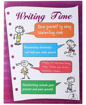 Blue Orange Publications Cursive Writing Book 3 - English