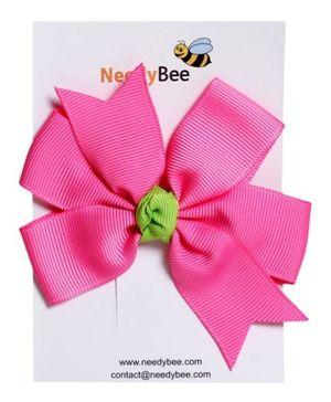 NeedyBee - Pink Bow