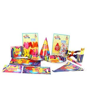 Birthday & Parties Colorful Birthday Party Kit