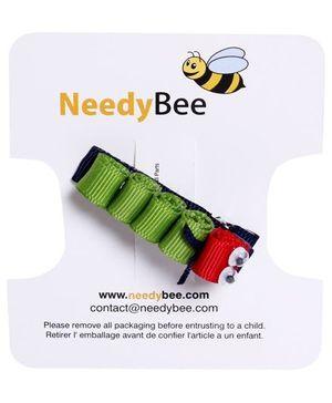 NeedyBee - Hair Clip Cater Piller