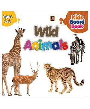 Board Books Series 2-2 Wild Animals - English