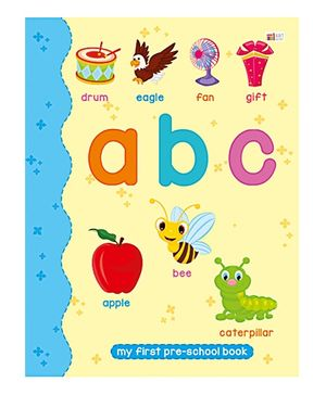 Art Factory ABC Pre School Book - Alphabate