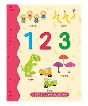 Art Factory 123 Pre School Book - Number