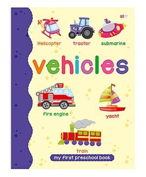 Art Factory Vehicle Pre School Book - Vehicile